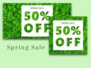 Spring sale – Social Media Template