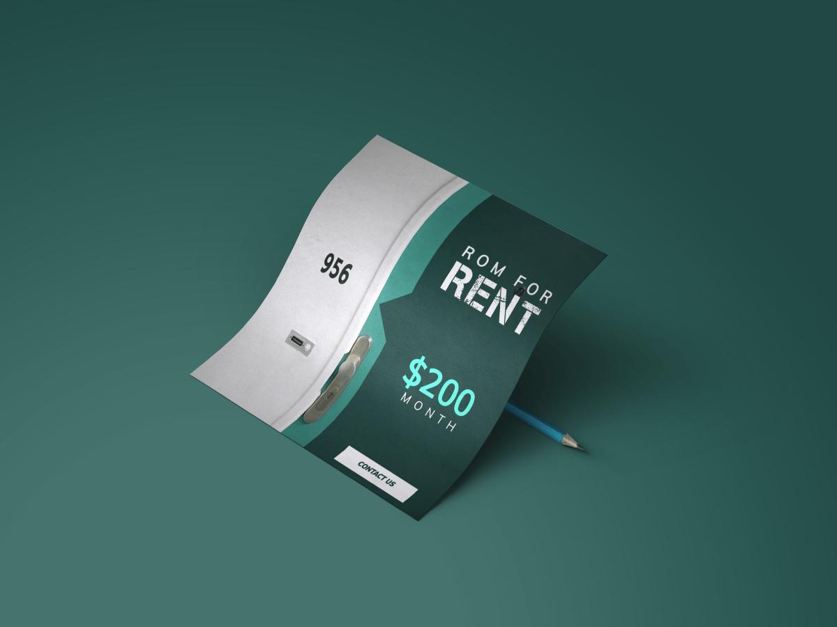 Rent ,Rom , Rom For Rent ,Social Media Template,social media template, design template, social media