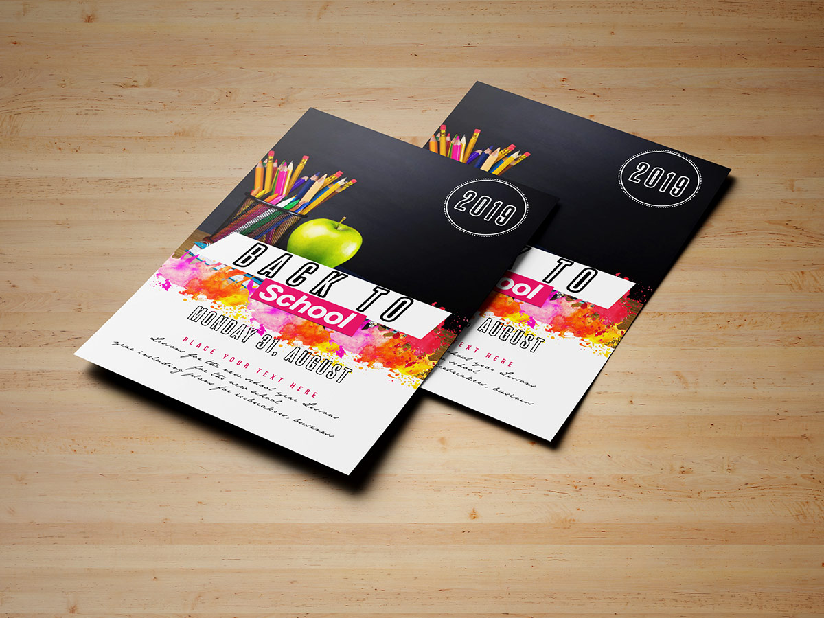 Back To School Flyer Templates Xcreative