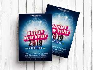 Happy New Year – Flyer Templates
