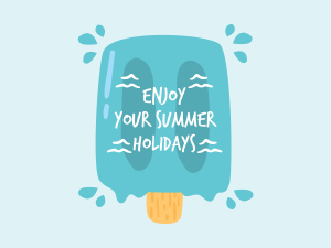 Social media_Enjoy your summer holidays teamplate