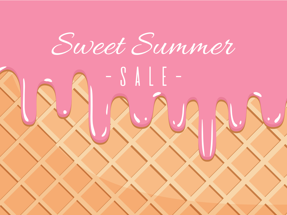 sweet, summer, sale, pink, promotion, social media, templates