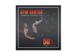 GYM Promotion – Ad Templates