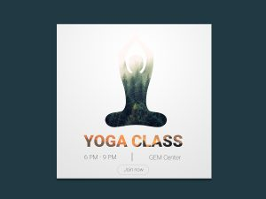 Yoga Couse – Banner Ad Templates