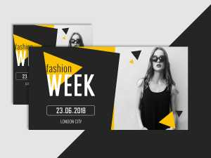 Fashion Week – Social Media Template