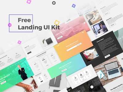 Free, UI, UX, Kits, Download, Template, PSD, Website, App