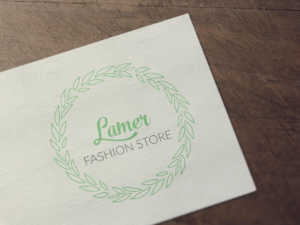 Floral Fashion Store Logo