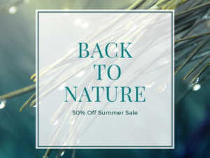 Back to Nature – Social Media Template