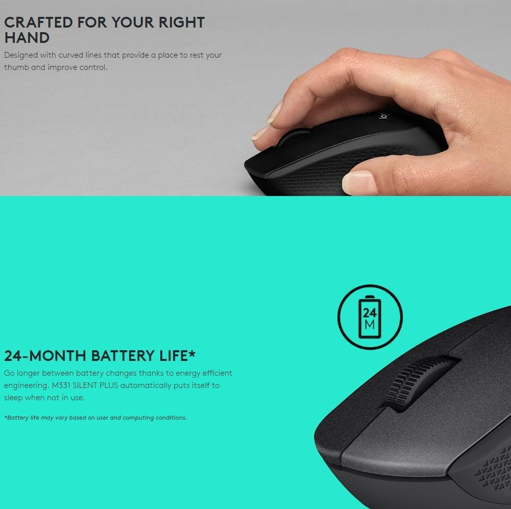 Logitech M331 Silent Plus Wireless Mouse Daftar Harga Terlengkap Garansi Resmi Original Overview