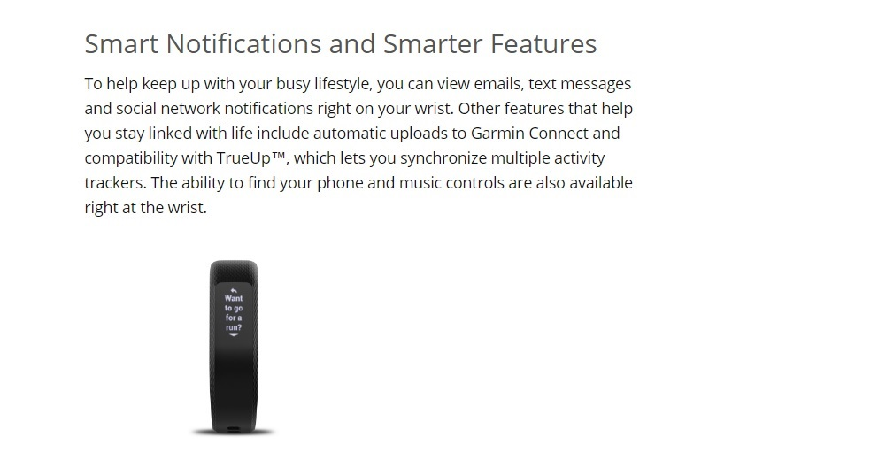 Wearable Technology | Activity Trackers | Garmin Vivosmart