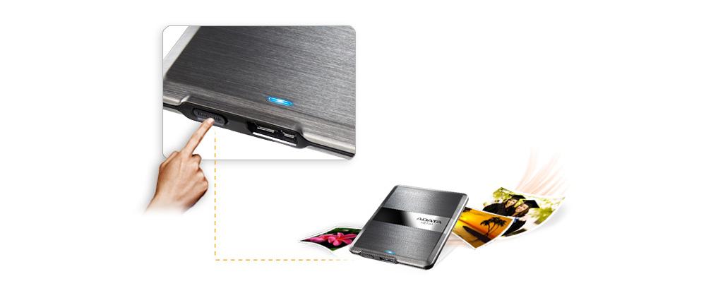ADATA Elite Slim [HE720] 1TB Portable HDD