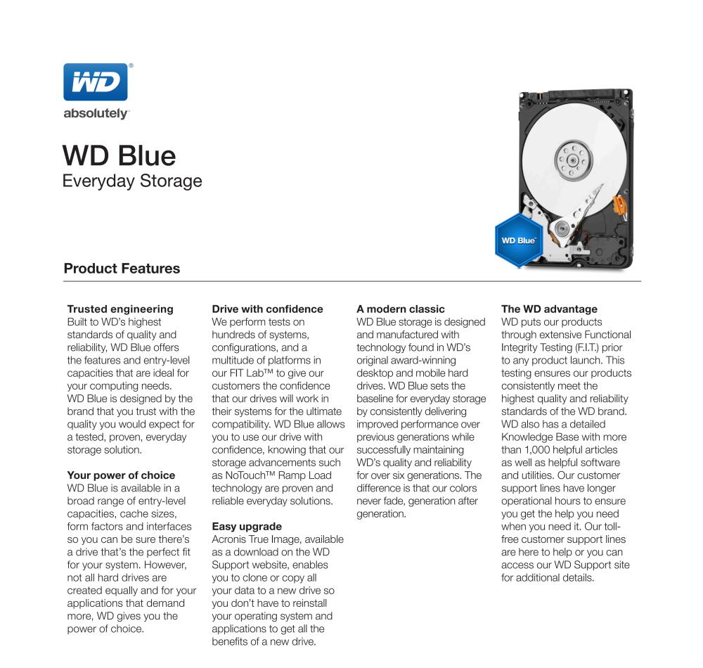 Data Storage Hard Disk Drives Wd 1tb Wd10spzx Internal Wdbbkd0030 3tb Cartridge Int Hdd 25