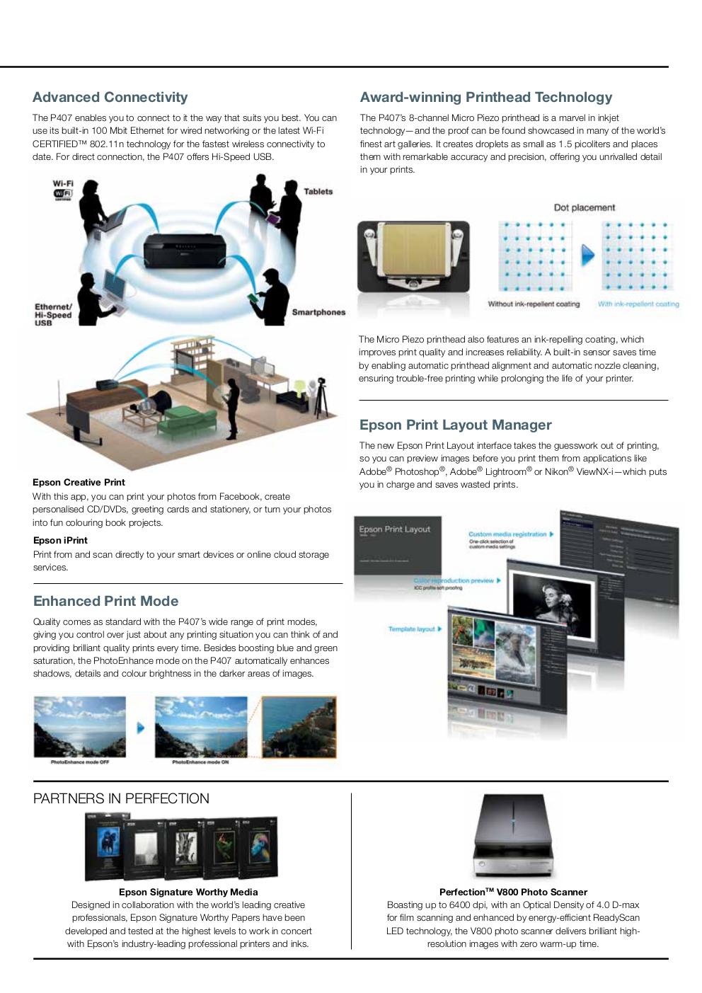 Epson SureColor SC-P407 A3+ Photo Specialty Printer