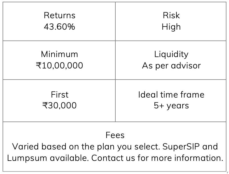 Equity Advisory Details