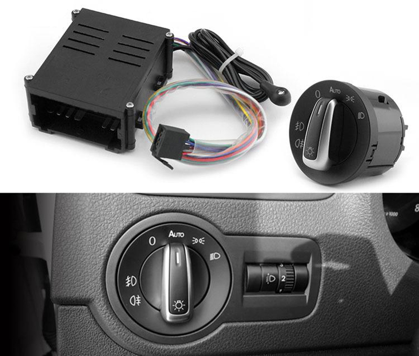 Cảm biến tự bật đèn ô tô giúp lái xe tránh vi phạm luật giao thông