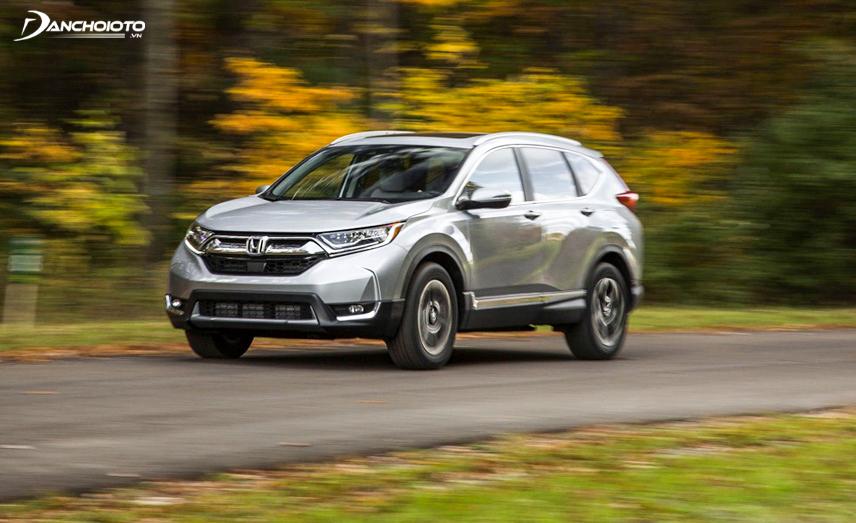 Honda CR-V hội tụ đầy đủ các yếu tố rộng rãi, tiện dụng, an toàn