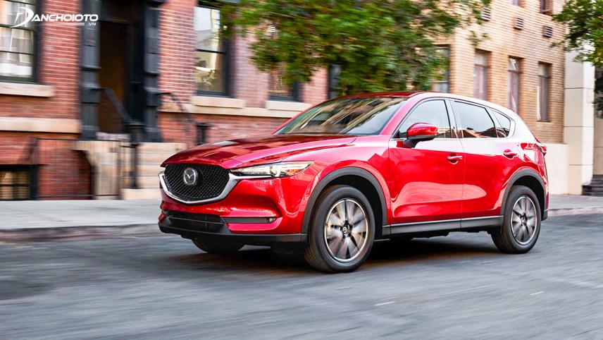 Mazda CX-5 là cái tên không thể bỏ qua khi nói đến crossover giữ giá tốt nhất