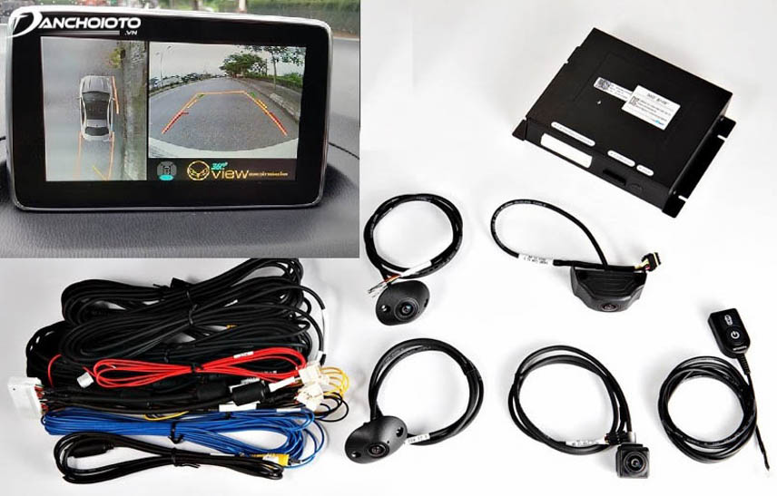 Camera 360 độ cho xe ô tô
