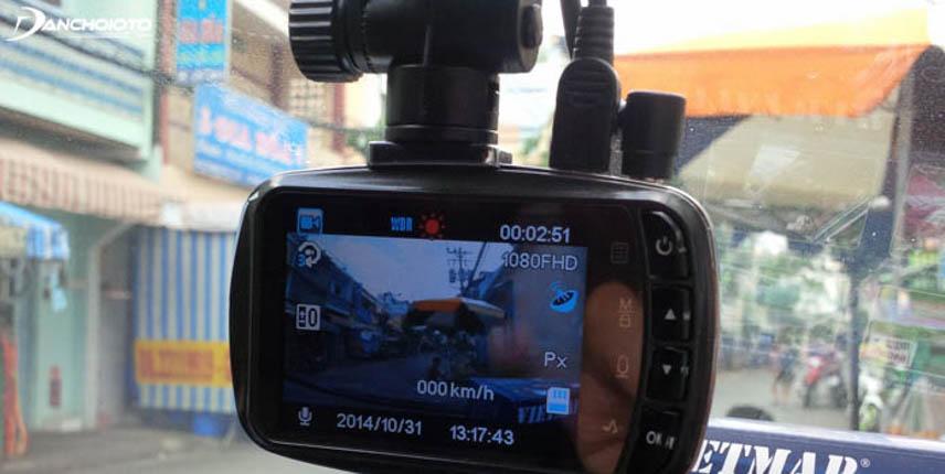 Camera hành trình dùng chip Novatek cho chất lượng 1080P