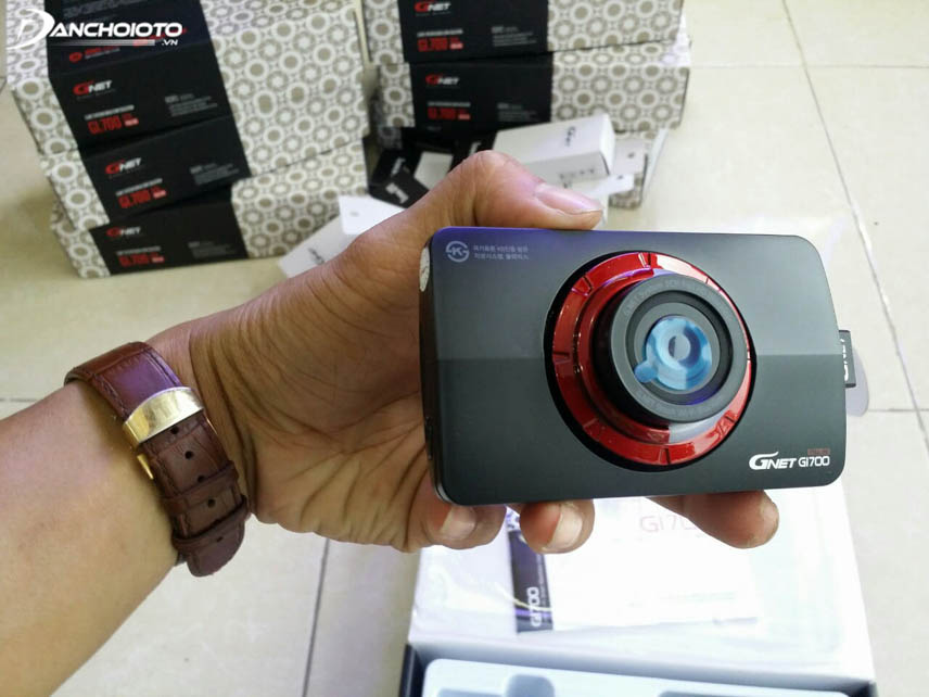 Camera hành trình Hàn Quốc thường dùng chip Texas Intruments