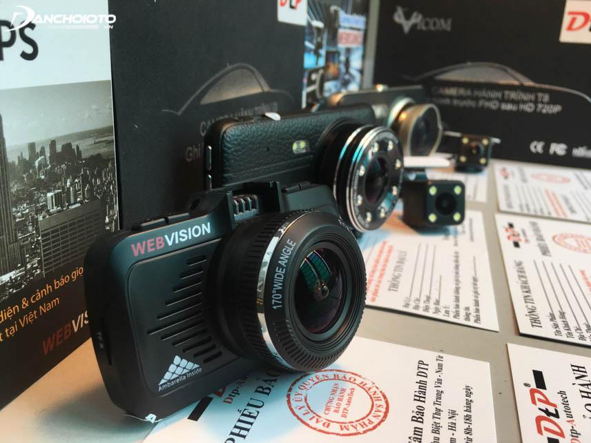Camera hành trình sử dụng chip Ambarella