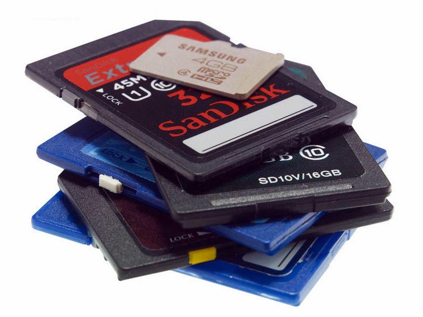 Chú ý đến dung lượng và loại thẻ nhớ khi mua thẻ