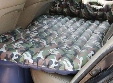 Đệm hơi ô tô: Sáng tạo nhỏ, trải nghiệm lớn, vợ con ngủ say giấc nồng