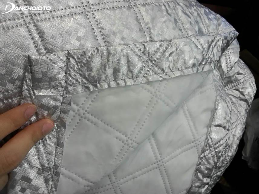 Bạt chống nóng có cấu tạo gồm nhiều lớp