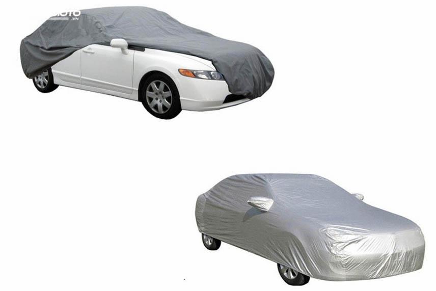 Cần phân biệt giữa bạt phủ ô tô và bạt chống nóng ô tô