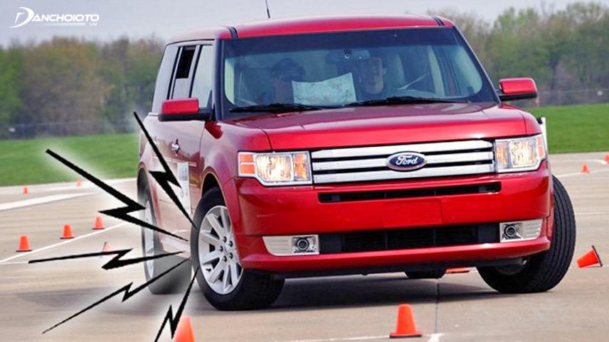 Bánh xe kêu gây khó chịu và mất an toàn
