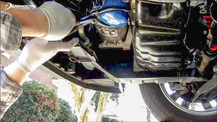 Thay lọc dầu giúp xe hoạt động tối ưu