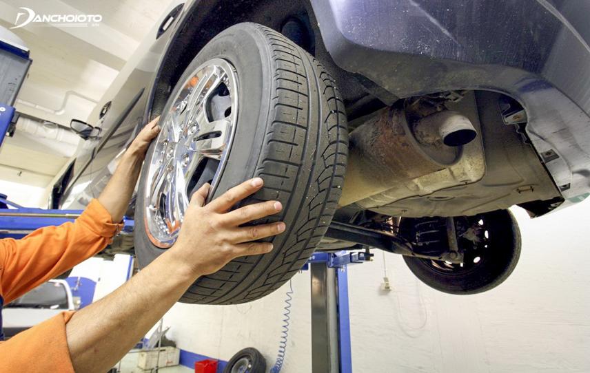 Đảo lốp giúp tiết kiệm nhiên liệu cho xe ô tô