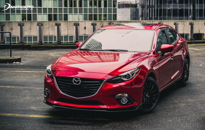 Hình ảnh Mazda 3 2015 đầy sang trọng và hiện đại