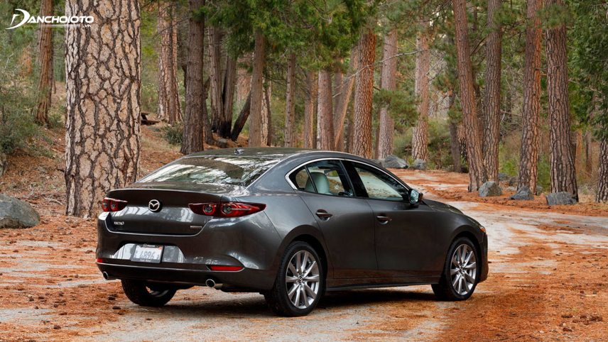 Khả năng cách âm sàn xe của Mazda 3 chưa thực sự tốt