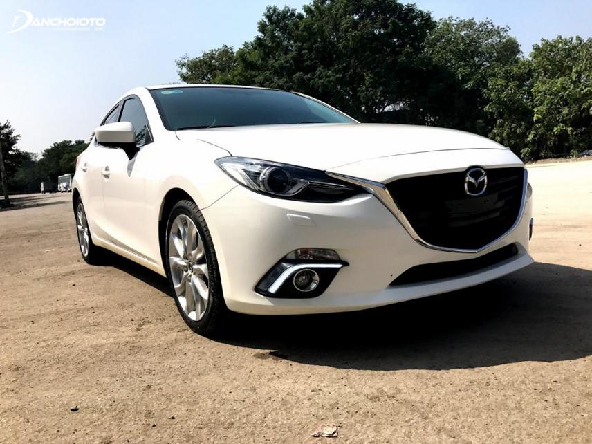 Mazda 3 2014 đến nay vẫn rất hiện đại, đẹp mắt