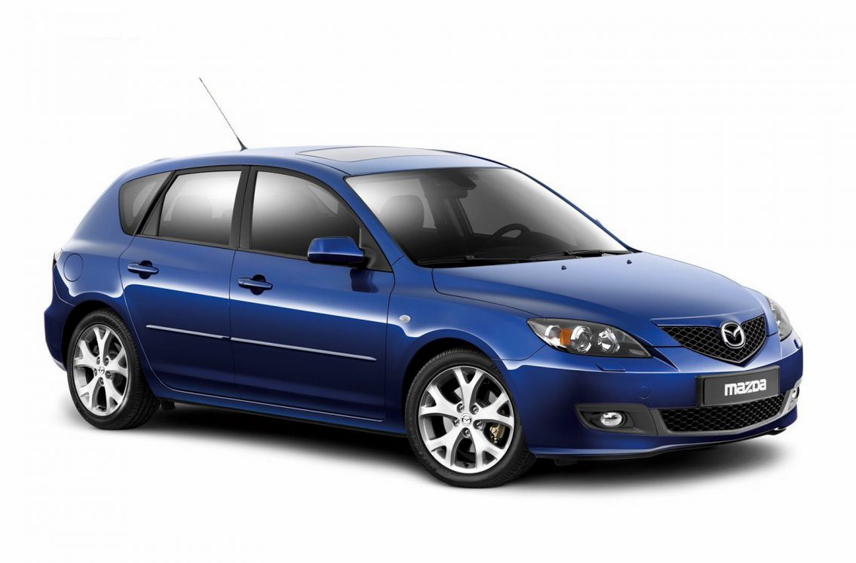 Mazda 3 chính thức được giới thiệu vào năm 2003