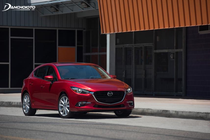 Mazda 3 facelift 2017 - 2018 có một số nâng cấp nhỏ