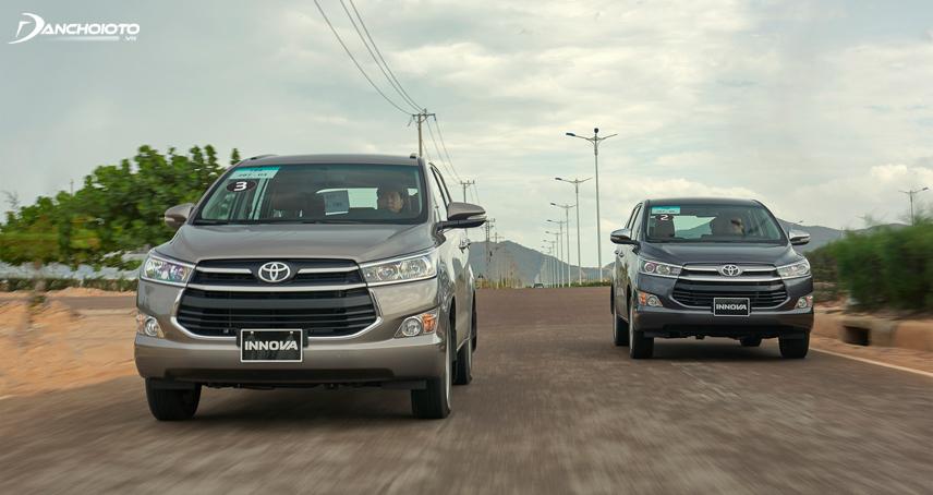 Khả năng cách âm Toyota Innova đã được cải thiện đáng kể