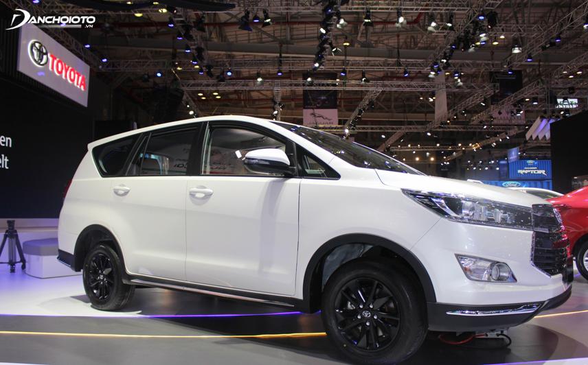 Thiết kế tổng thể của Toyota Innova mang nét thanh lịch, nhẹ nhàng