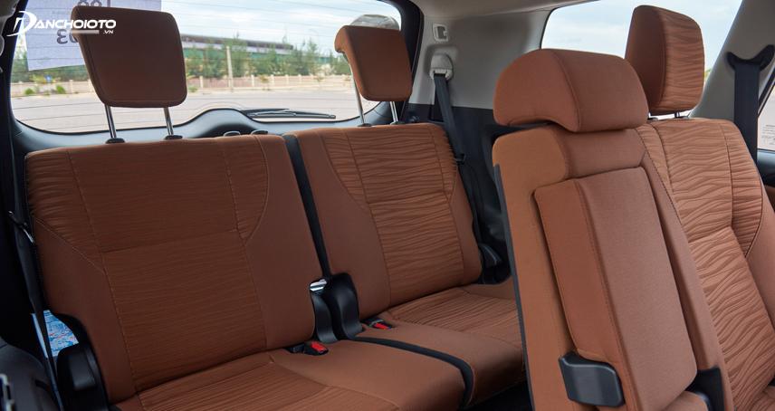 Toyota Innova là mẫu xe 7 chỗ phổ thông sở hữu không gian rộng rãi nhất