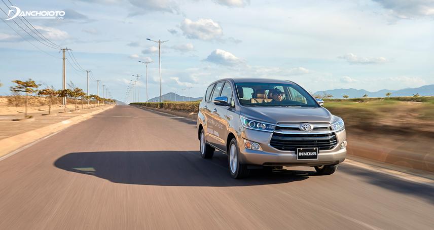Toyota Innova nổi tiếng với khả năng vận hành bền bỉ cao