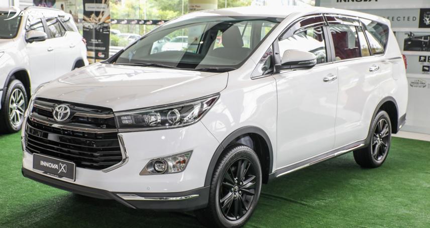Toyota Việt Nam phân phối chính thức mẫu xe Innova theo hình thức lắp ráp trong nước