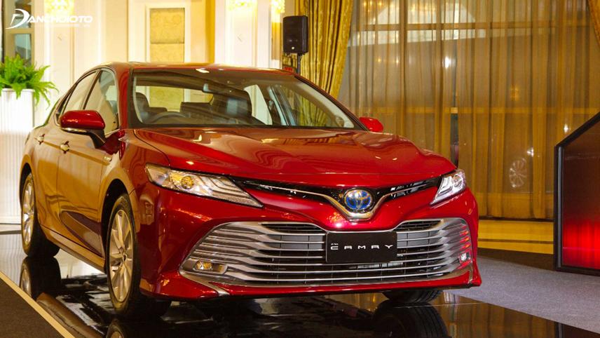 Diện mạo phiên bản Toyota Camry 2018 - 2019 phân phối ở thị trường châu Á