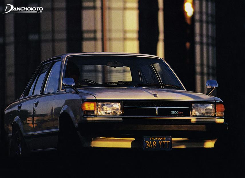 Toyota Celica Camry đầu tiên xuất hiện vào năm 1980