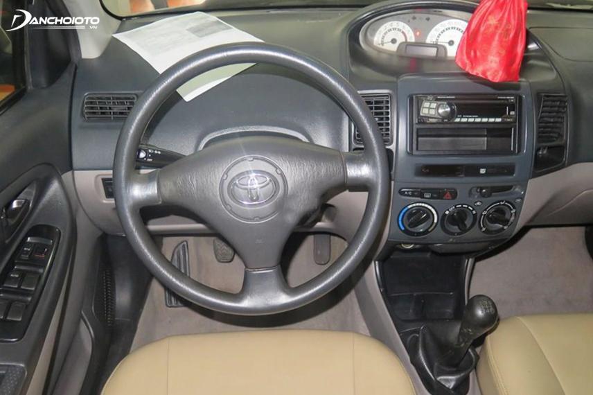 Nội thất Toyota Vios thế hệ đầu