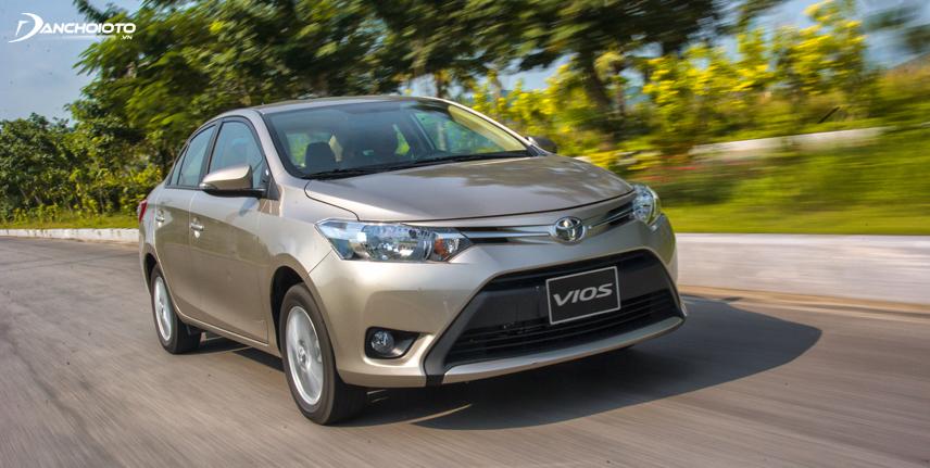Toyota Vios 2016 sở hữu doanh số bán vượt bậc