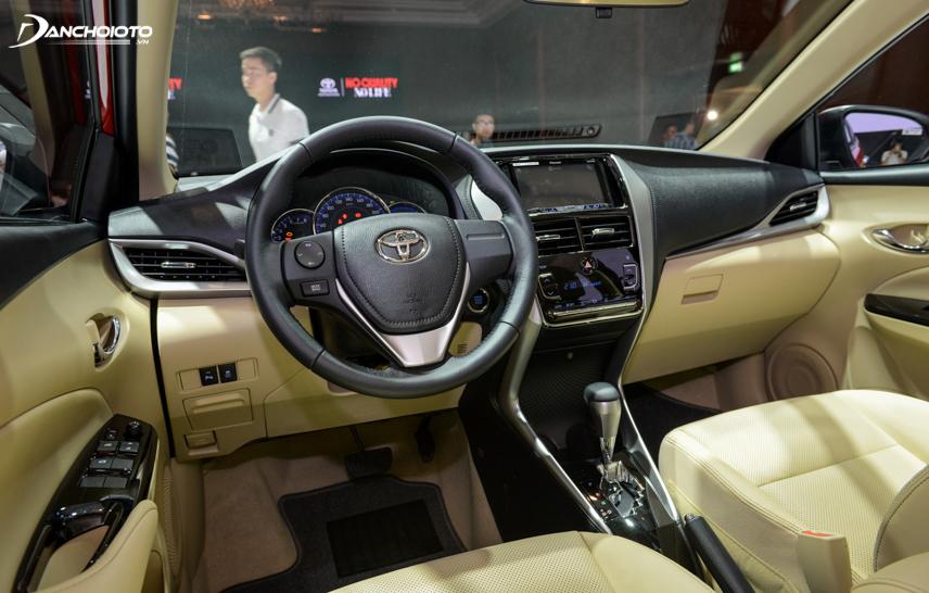 Toyota Vios 2018 - 2019 có nhiều trang bị hiện đại hơn
