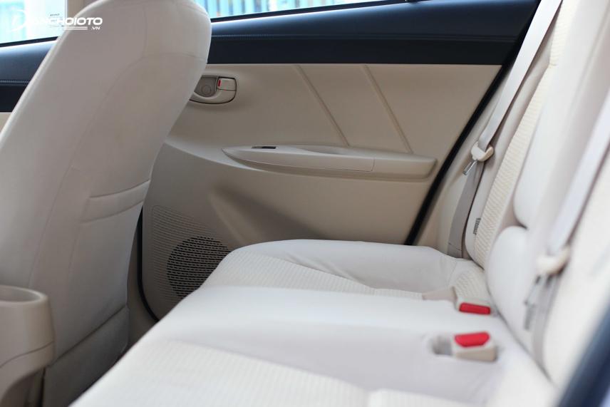 Toyota Vios đã được đánh giá cao khi sở hữu khoang nội thất rộng rãi bậc nhất