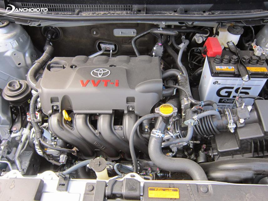 Toyota Vios phần lớn được trang bị động cơ 1.5L