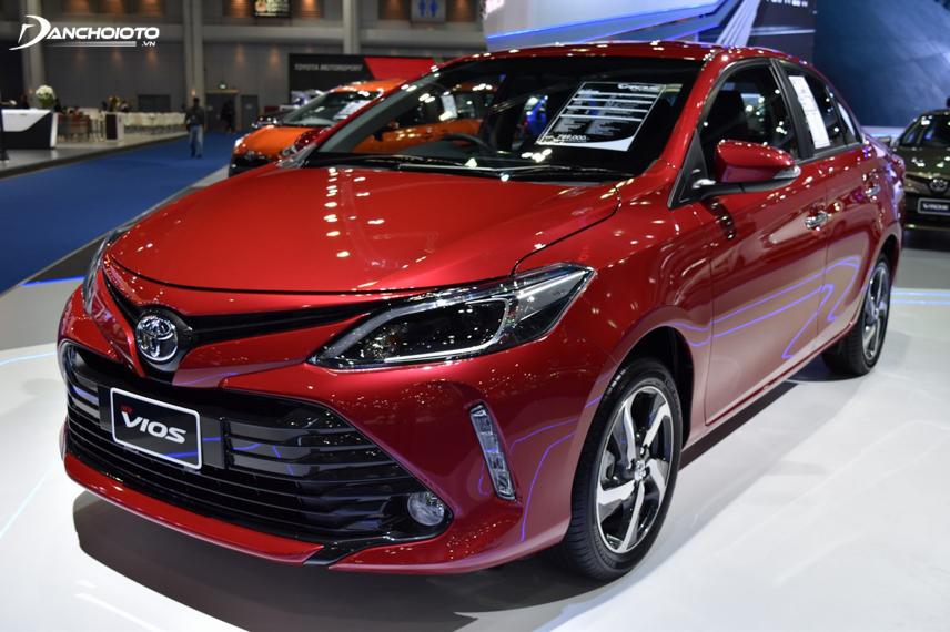 Toyota Vios phổ biến nhất là phiên bản nhập khẩu Thái Lan